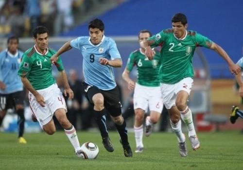 Uruguay goleó a México por 4 a 1 en Houston