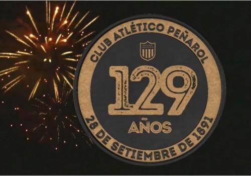 Peñarol conmemoró sus 129 años